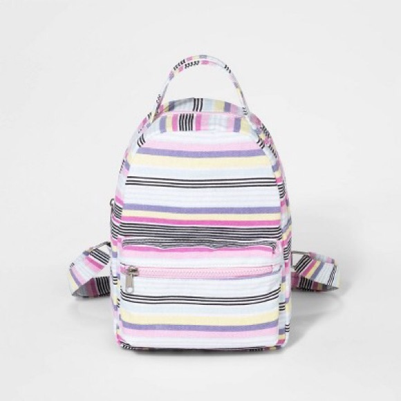art class Other - Girl's Striped canvas backpack 🎒